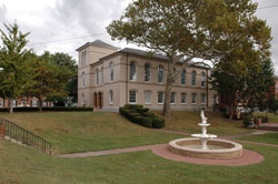 Dorchester County Circuit Court Courthouse with Fountain