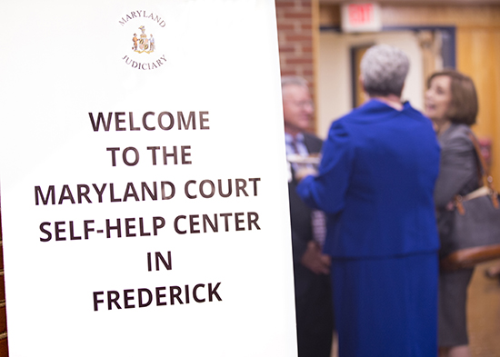 Frederick Self-Help Center Opening